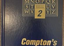 موسوعة Compton's مكونة من 26 كتاب الحالة جديدة