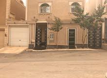 فيلا للبيع شمال الرياض حي النرجس درج صاله +شقه مساحة 300م