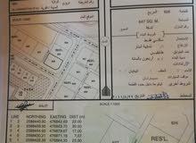 أرض سكنية للبيع مخطط الحومانية