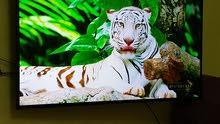 شاشة سامسونج 55 سمارت 4k بالكرتونة