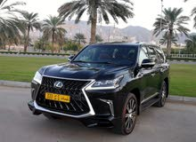 1 - 9,999 km Lexus LX 2018 for sale
