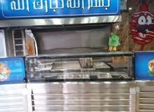 معدات مطعم شاورما كامله للبيع