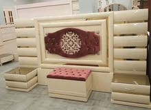 غرفة نوم رئيسية روعه من معرض عالم الاثاث الدمياطى