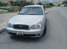 سوناتا موديل 2002 للبيع بحالة ممتازة جدا