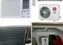 all kinds of AC maintenance riparian service work and fix buy and sell