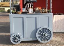 عربة طعام للبيع food cart for sale
