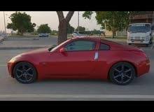 Red Nissan 350Z 2003 for sale