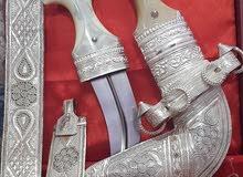 خنجر عمانية صياغة طيبة جدا بقرن صندل إضافي