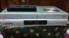 جهازين مزدوج DVD وكاسيت فيديو ماركة توشيبا و ماركة LG نظيفات وشرط الشغل .