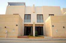 Three bedroom luxury villa,in Alrabiah compound, high end finishing, prime location.