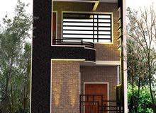 بيت للبيع مساحته 63 متر بالشعب حي التجار بناء جديد