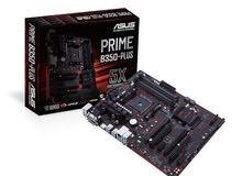 ASUS Prime B350-Plus AMD Ryzen AM4 مذربورد