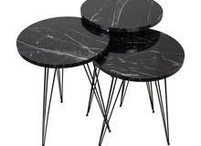 طاولة + 3 إسكمبالات