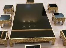 طاولات مجالس ارضيه حسب الطلب