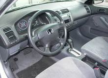 Renting Honda cars, Civic 2004 for rent in Amman city