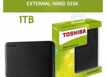 هاردسكات خارجيه من Toshiba .
