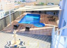 5 BR townhouse with pool for rent in Al Muna تاونهاوس للايجار بالمنى