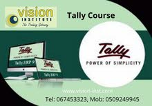 Tally Classes at Vision Institute. Call