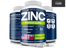 Zinc  _ دعم صحة البشرة وتجديدها ويعالج ظهور للحب غير معروف المصدر  _ يمنع ت