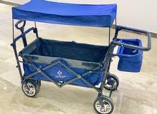 عربة نوم اطفال متعددة الأغراض صناعة ألمانية من شركة Kesser
