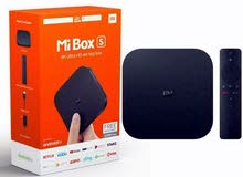 Xiaomi Mi Box S Streaming Media Player Black مشغل الوسائط جديد عرض خاص مع كفالة