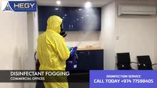 Disinfectant Fogging for Commercial building
