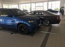 BMW X5M شبه وكاله وممشي قليل وصيانه في الشركة