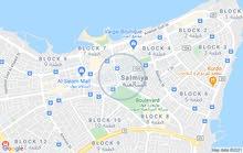 ستوديو للايجار بموقع مميز بالسالمية for rent furnished studio in salmiya