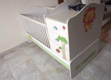 سرير 2 في 1 اطفال وتقدر تخليه اكبر شركة