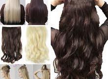 وصلات شعر طبيعي 100% Hair extentions