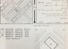 ارض للبيع صحار-فلج السوق