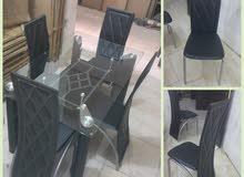 عرض تصفية طاولات طعام 4 كرسي و6 كرسي