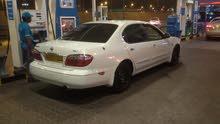 For sale 2002 White Maxima