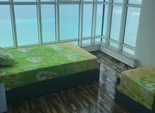 شقة بانوراما المندرة بحر مباشر