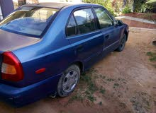 Used condition Hyundai Accent 2000 with 0 km mileage