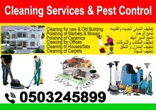 Cleaning Services & pest control