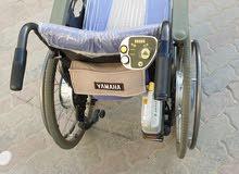 كرسي كهربائي متحرك من شركة ياماها اليابانيه