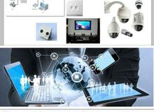 installing of cctv's, fiber optics and telephone system