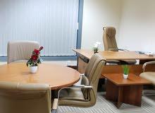 مكاتب متنوعة بيزنس سنتر شامل جميع المصاريف