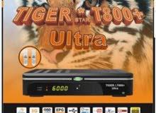 للبيع رسيفرات tiger t800 altra 4k