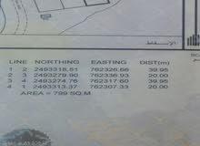 عيجه/5 رقم 2295 مساحة كبيرة  799 متر قابلة للتمديد 3 جهات مطلوب 3200 رع