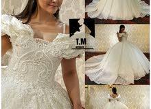 محل T&M لفستين الزفاف لليثي شارع الخاليج