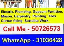 All kinds of maintenance work Call me - 50726573
