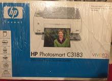 طابعة HP متعددة الاستخدامات (طابعة+سكانر+ماكينة تصوير)