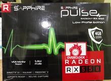 للبيع كرت شاشة radeon rx550 4gb