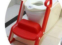 مقعد حمام للاطفال للجلوس علي المقعد الافرنجي