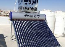 سخانات شمسية صناعة اردنية