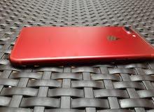 ايفون 7 plus لون أحمر مميز وكااله كل اغراضو اصلية  للبيع فقط