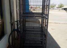 قفص مقسم 3 طوابق للطيور و الحيوانات الثانيه