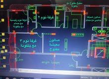 شقة عظم 181 متر غرب دوار ابو مازن